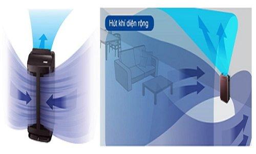 Máy lọc không khí tạo ẩm Hitachi EP-A8000 lọc khí trên phạm vi rộng
