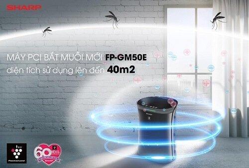 Máy lọc không khí bắt muỗi Sharp FP-GM50E-B chính hãng