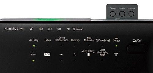 Bảng điều khiển máy lọc khí tạo ẩm Hitachi A8000