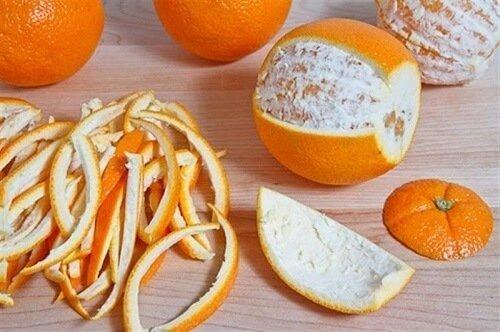 Cách khử mùi thức ăn bằng vỏ chanh, cam