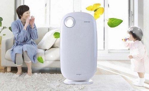 Cách khử mùi thức ăn bằng máy lọc không khí