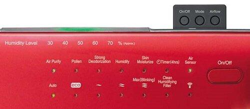 Chức năng của máy lọc không khí tạo ẩm Hitachi EP-A6000