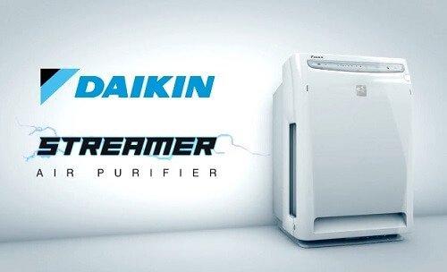 Công nghệ Streamer trên máy lọc không khí Daikin
