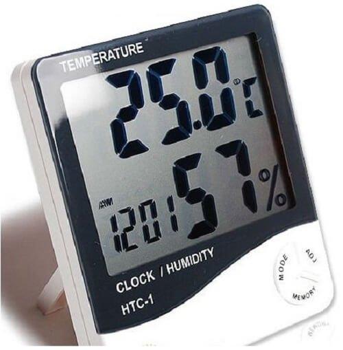 Độ ẩm không khí từ 55-65% tốt cho sức khỏe