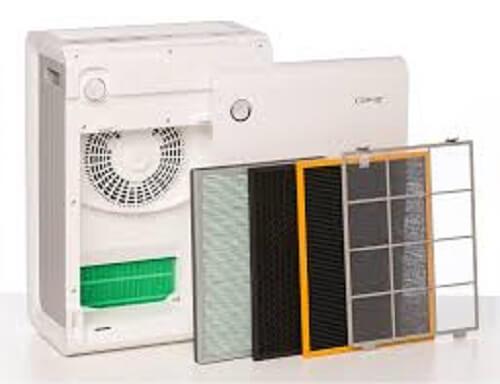 Vệ sinh máy lọc không khí tạo ẩm Coway APM-1010DH