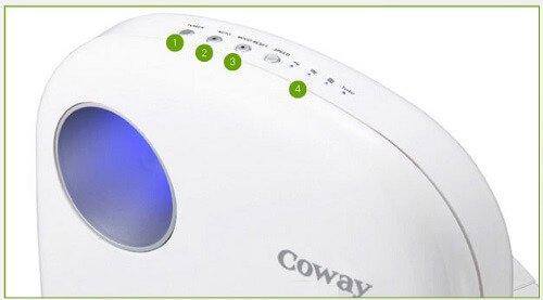 Sử dụng máy lọc không khí Coway AP-1009CH