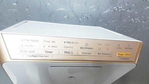 Hướng dẫn sử dụng máy lọc không khí Panasonic F-PXM55A