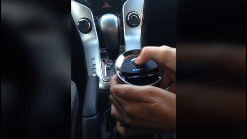 Khởi động máy lọc khí ô tô Sharp-IG-GC2E