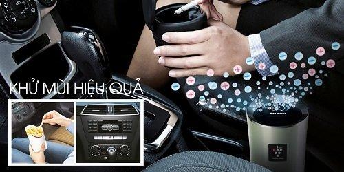 Khả năng lọc sạch không khí và khử mùi hiệu quả nhờ máy lọc khí ô tô