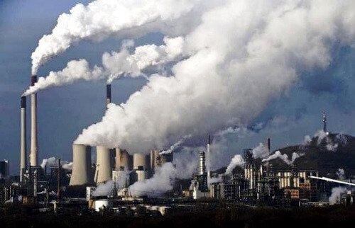 Sử dụng máy lọc không khí cho khu vực có nhiều nhà máy