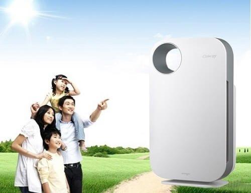 Máy lọc không khí bảo vệ sức khỏe con người