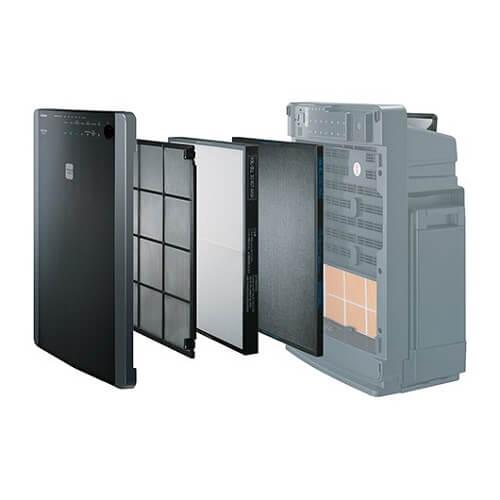 Cách lắp đặt màng lọc Hepa Hitachi EP-A8000