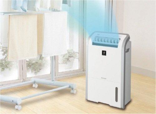 Máy hút ẩm lọc khí Sharp DW-D20A-W có hệ thống hút ẩm nâng cao