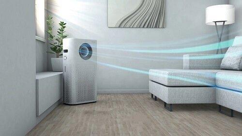 Máy lọc khí tạo ẩm đem đến không gian dễ chịu cho gia đình