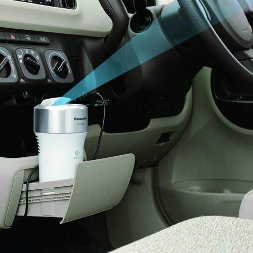 Máy lọc không khí ô tô Panasonic F-GMK01-K lọc sạch không khí hiệu quả