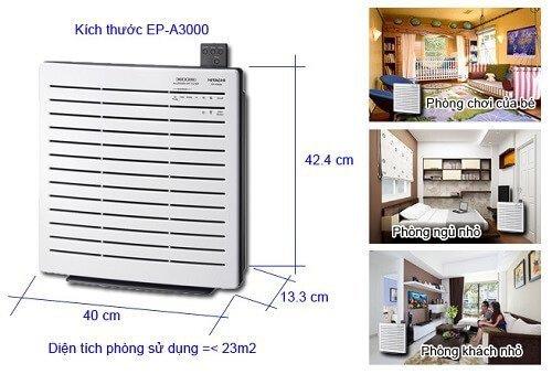 Máy lọc không khí Hitachi EP-A3000