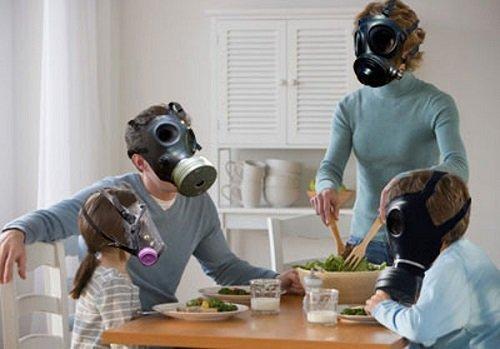 Không khí trong nhà tồn tại không ít bụi bẩn, vi khuẩn