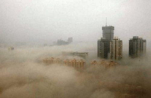 Hạt bụi PM2.5 dễ dàng xâm nhập vào cơ thể con người