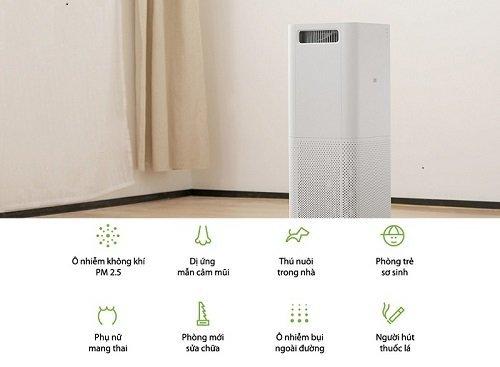 Sử dụng đúng các chức năng trong máy lọc không khí