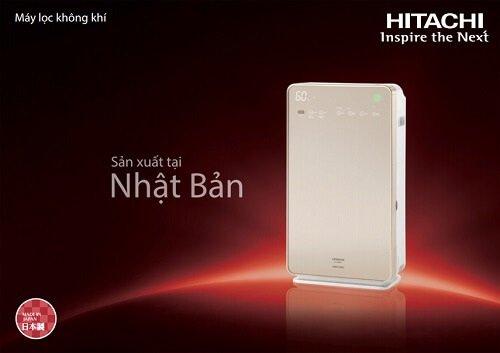 Máy lọc không khí Hitachi đến từ thương hiệu Nhật Bản