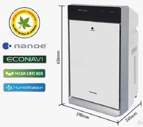 Công nghệ nổi bật trên máy lọc không khí Panasonic
