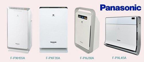Máy lọc không khí Panasonic có thiết kế hiện đại