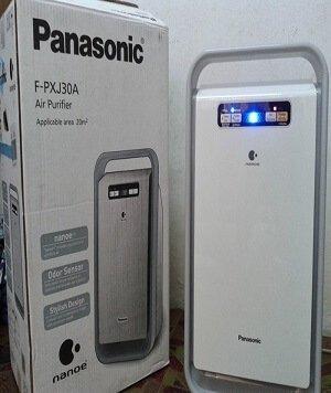 Đèn báo tín hiệu trên máy lọc không khí Panasonic