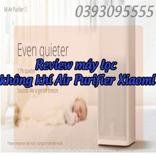 đánh giá máy lọc không khí Air Purifier Xiaomi