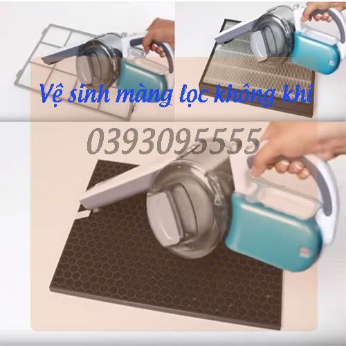 vệ sinh máy lọc không khí